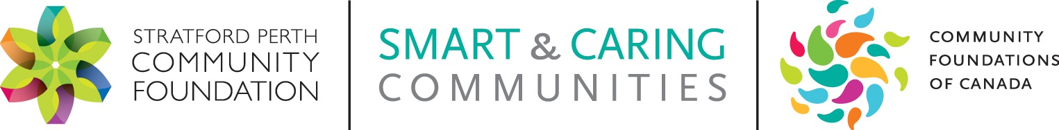 Stratford Perth Community Foundation Smart & Caring Communities Header