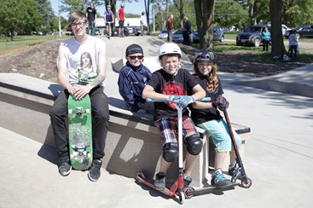 Skate Park Arrives In St. Marys