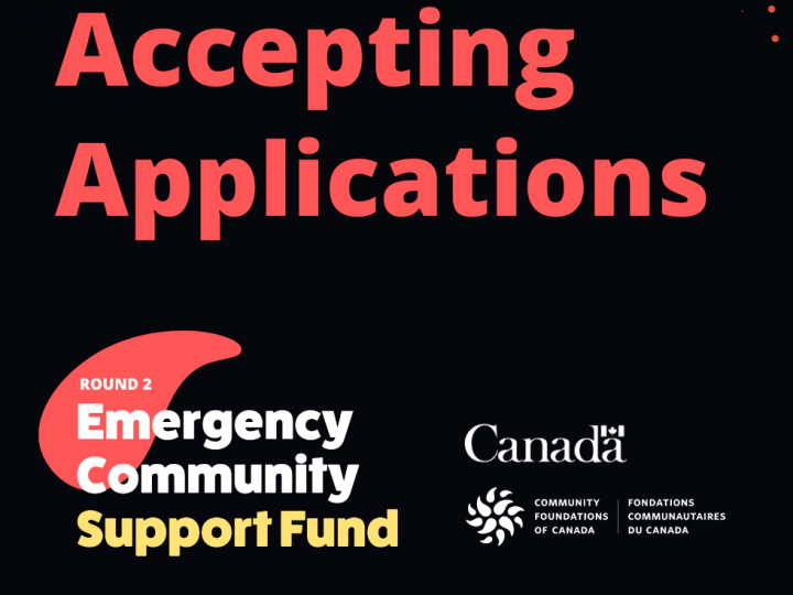 Emergency Community Support Fund 2nd Round Announcement